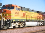 BNSF 4122 Eastbound